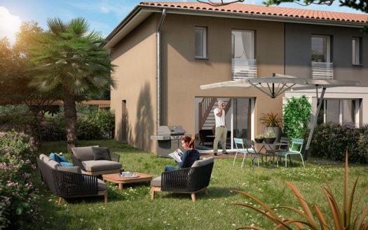 Programme -Immobilier- Neuf -Mérignac-Les Villas de Clara - Immocub