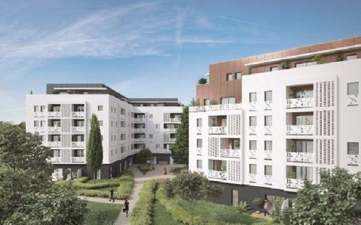 Programme- Immobilier- Neuf- Lormont-Square Oréa-Immocub