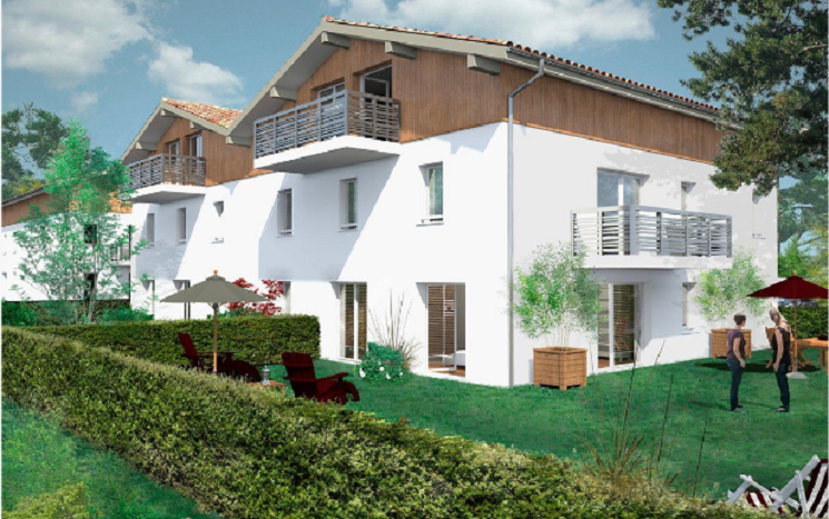 Programme-Immobilier-Neuf-Bayonne-Aux Fleurettes-Immocub