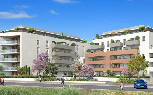 Programme-Immobilier-Neuf-Bayonne-Le Clos Andorra- Immocub