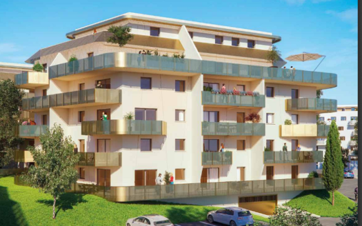Programme-Immobilier-Neuf-Bayonne-Résidence Egurrean-Immocub