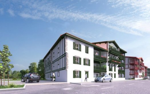 Programme-Immobilier-Neuf-Saint Pee sur Nivelle-Argi Eder-Immocub