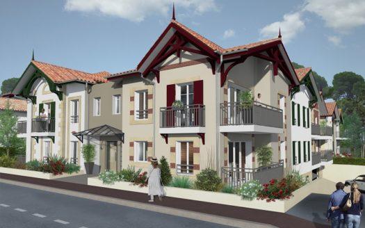 Programme-Immobilier-Neuf-Arcachon Villa Nascita-Immocub