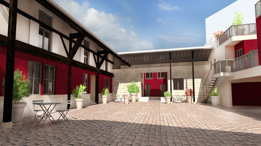 Programme neuf bordeaux bastide clos la bastide immocub for Bordeaux bastide immobilier