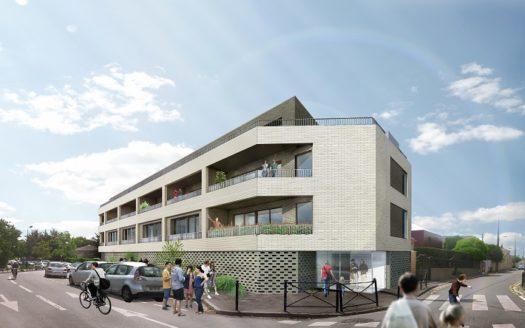 Programme-Immobilier-Neuf-Bordeaux Caudéran-Le CLos Saint Charles-Immocub
