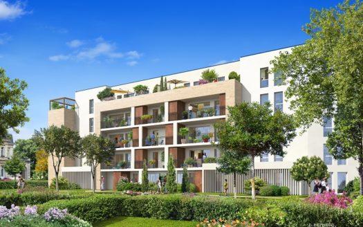 Programme-Immobilier-Neuf-Le Bouscat-Pierre 1er Héritage-Immocub