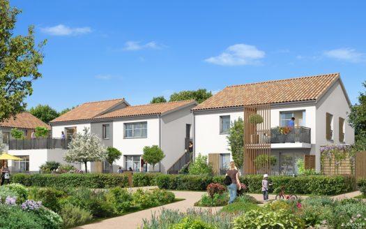 Programme-Immobilier-Neuf-Martignas sur Jalle-La Commanderie-Immocub