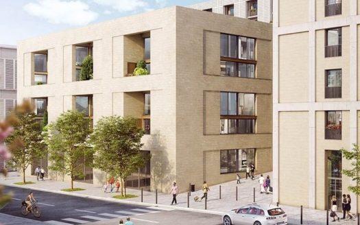 Programme-Immobilier-Neuf-Bordeaux Belcier-Coeur Saint Germain-Immocub