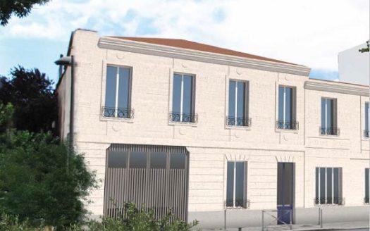 Programme-Immobilier-Neuf-Bordeaux Chartrons-Les Patios d'Emile-Immocub