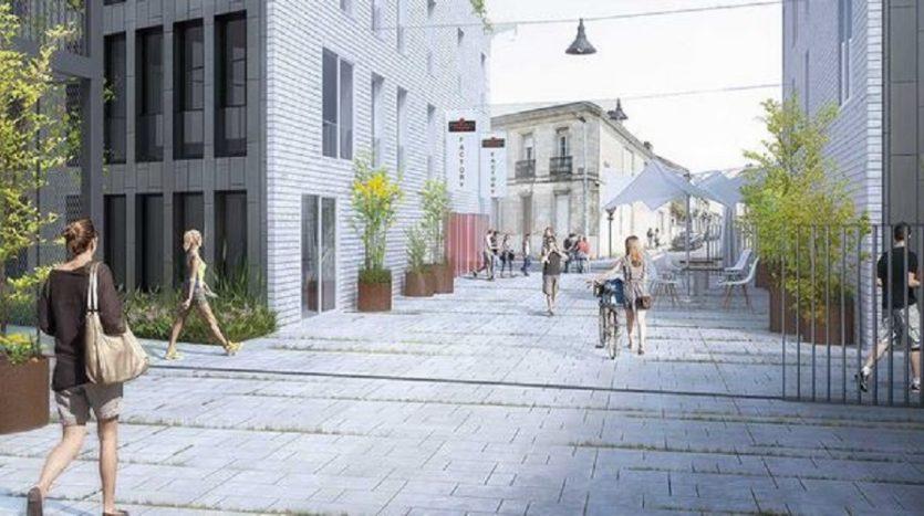 Programme neuf bordeaux centre la factory immocub 200 for Location appartement bordeaux et ses environs