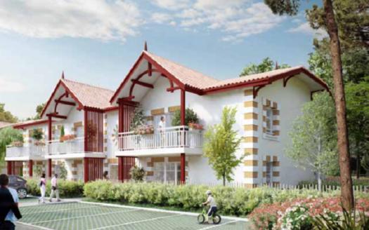 Programme-Immobilier-Neuf-Andernos-AZUREA 1- Immocub
