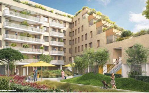 Programme-Immobilier-Neuf-Bordeaux Belvédère-Bordoscena- Immocub