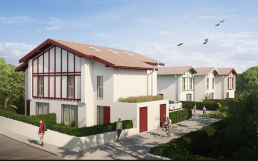 Programme-Immobilier-Neuf-Anglet-Les Villas des Cigales - Immocub