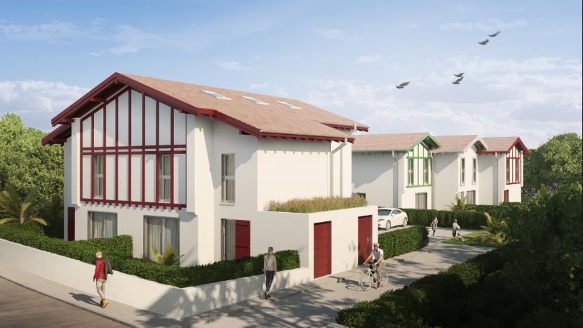Programme-Immobilier-Neuf-Anglet-Les Villas des Cigales - Immocub