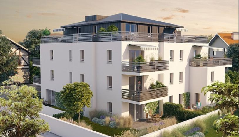 Programme-Immobilier-Neuf-Bayonne-Les Arènes- Immocub