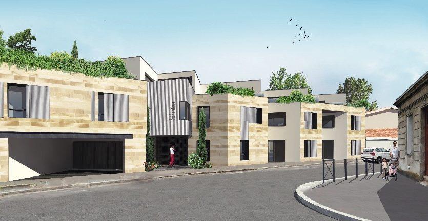 Programme-Immobilier-Neuf-Bordeaux Caudéran-Villa Etchenique-Immocub